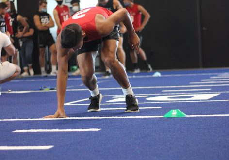 Click to view album: RARE SHOWCASE COMBINE AT D1 By Rondell McNair